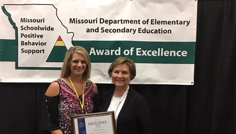 Rissler Elementary School of Trenton recognized for implementation of program Initiative